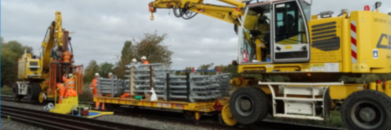 Reduced maintenance costs are a realistic proposition with Van Elle's track bed stabilisation solution
