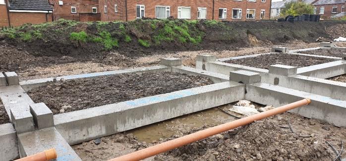 Van Elle delivers bespoke, efficient foundation package for pioneering modular home development in Lancashire