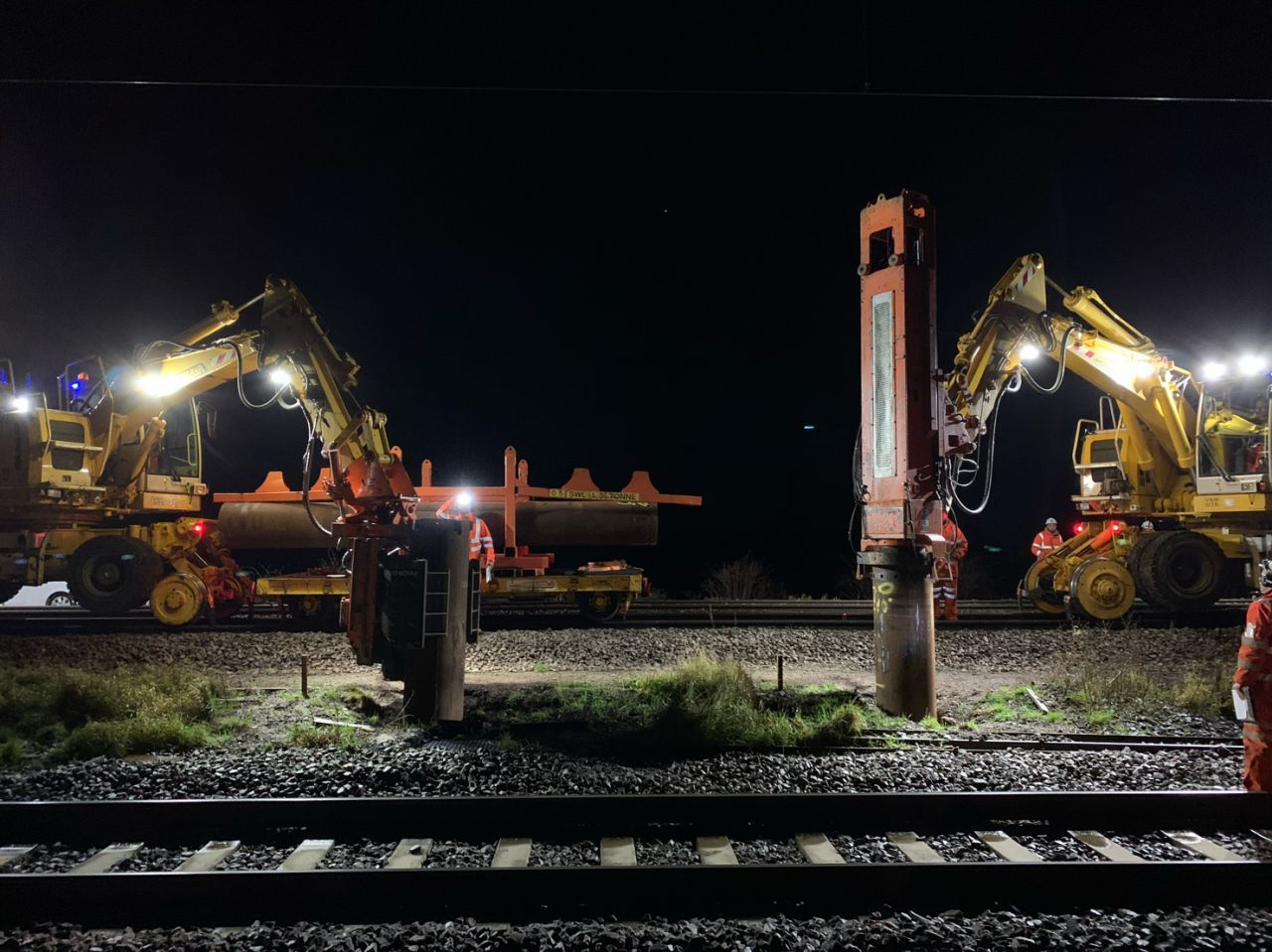 Teamwork enables electrifying rail project