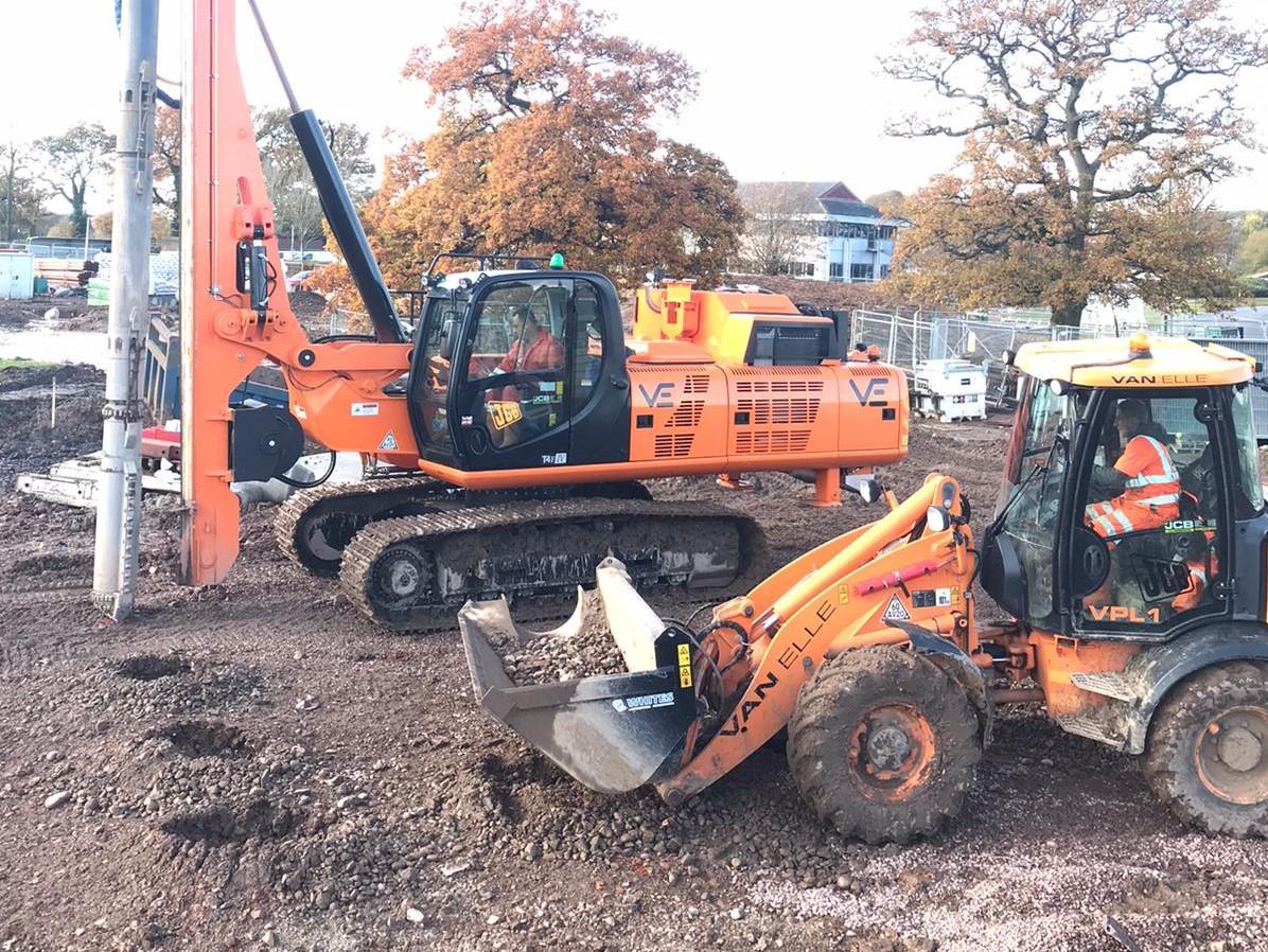 Van Elle starts first HS2 ground improvement project