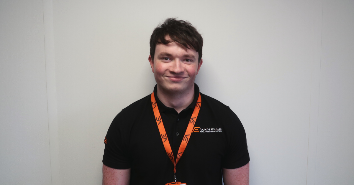 Van Elle's rising star commends expert colleagues for making his apprenticeship easier