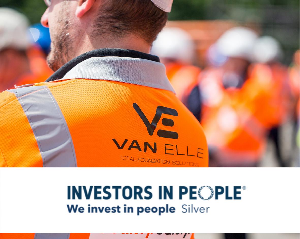 Van Elle maintains Investors in People Silver Award
